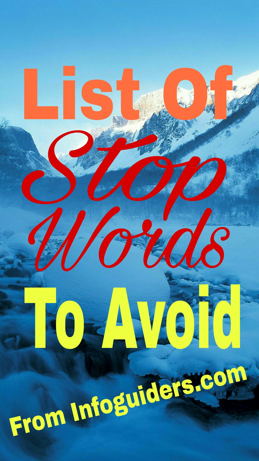 Stop word