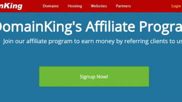 Domain King Affiliate Program