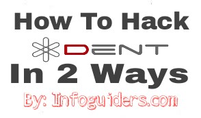 How to hack Dent App