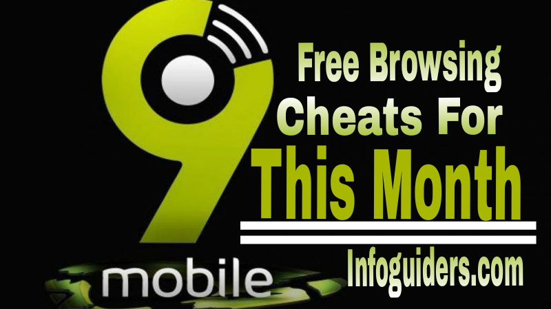 9Mobile Free Browsing Cheats