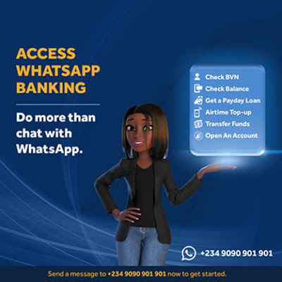 What You Can do with Access WhatsApp banking