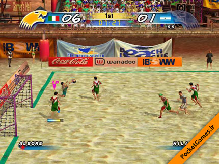 Beach soccer shootout - Best soccer games for android