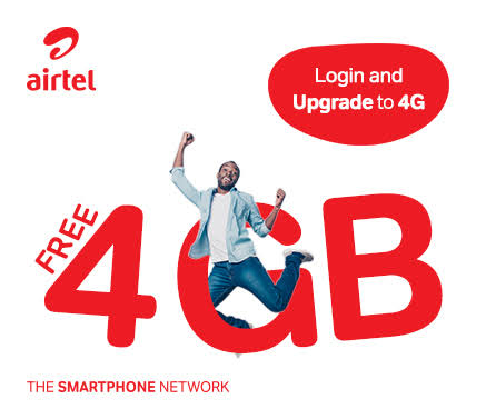 Get Free 4GB Data Now