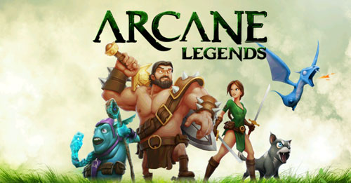 Arcane Legends - Best Multiplayer Games For Android And IPhone