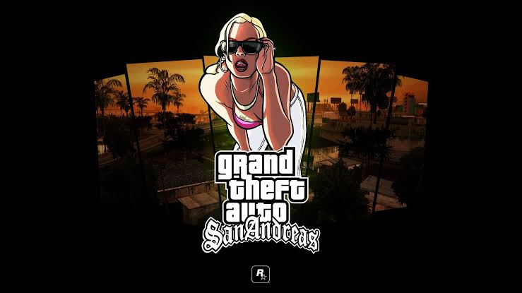 Grand theft auto :san andreas - Best Action Games For IPhone