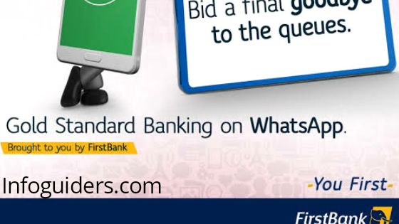 FirstBank WhatsApp Chat Banking