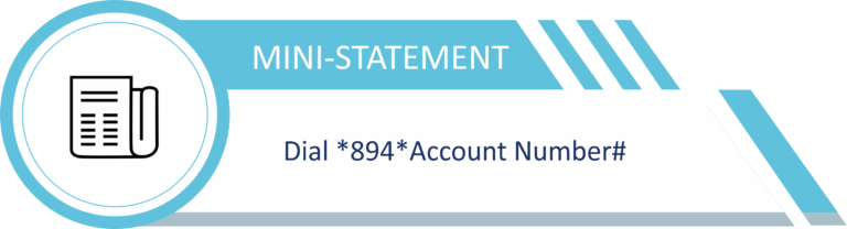 How to See statement of account with short code