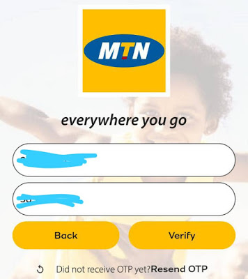 How to get more than 500mb on MTN App