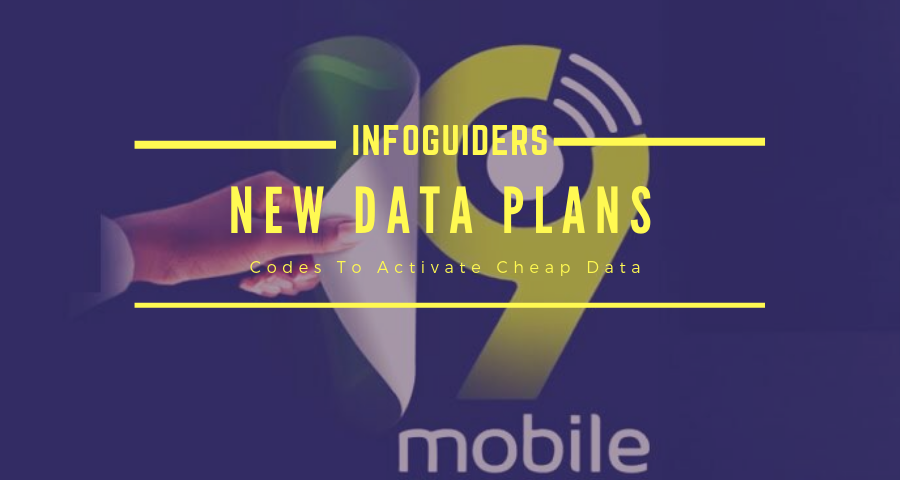 New 9mobile Data Plans
