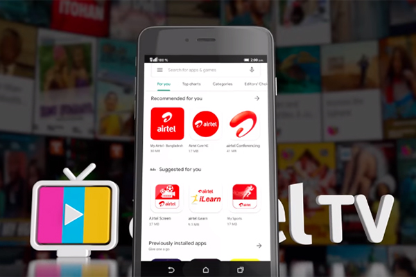 How to install Airtel TV app