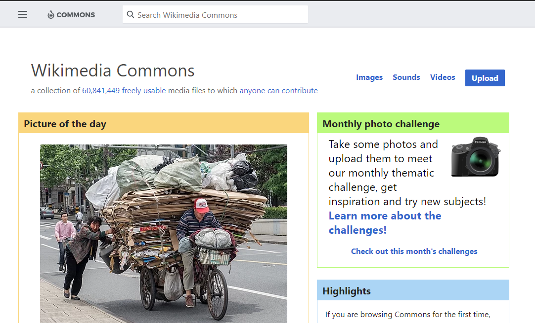 Wikimedia Commons Search