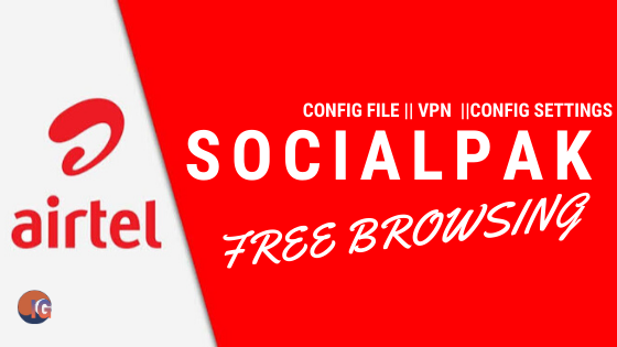 Airtel Socialpak Free Browsing Settings With VPN