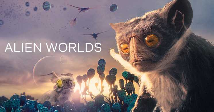 Trailer da serie Alien Worlds