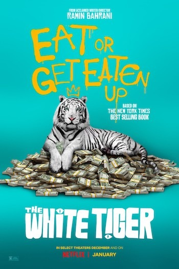 The White Tiger (2021) Full Movie Download 480p, 720p, 1080p
