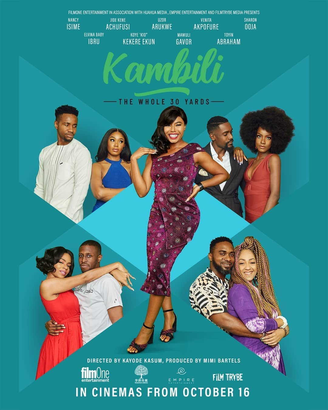 Kambili The Whole 30 Yards cast Poster